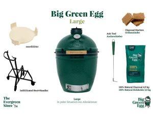 Big Green Egg LARGE - Starterset