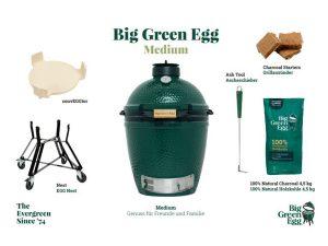 Big Green Egg MEDIUM - Starterset
