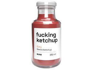 Fucking Ketchup Curry (250ml, Glasflasche)